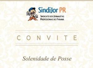 Convite: Posse da nova diretoria do Sindijor acontece dia 30 de maio