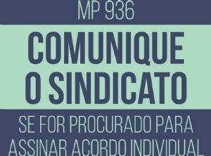 MP 936 transfere custo da crise para o trabalhador