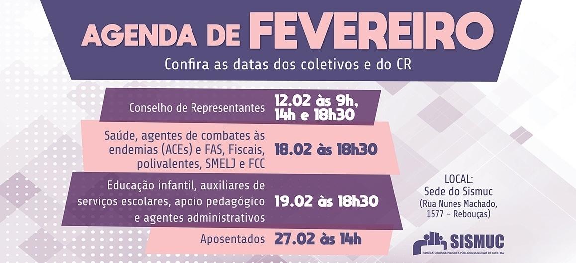 Participe dos coletivos de fevereiro e construa a campanha de lutas!