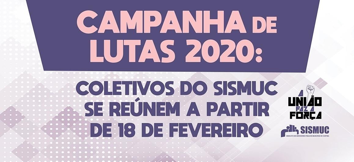 Campanha de lutas 2020: coletivos do SISMUC se reúnem a partir de 18/02