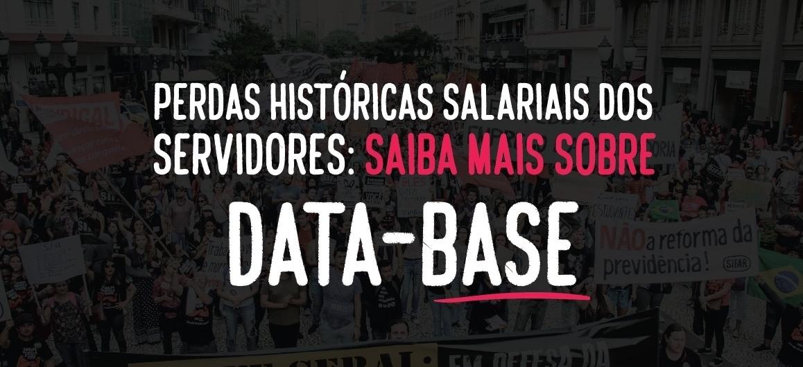 Perdas históricas salariais dos servidores: saiba mais sobre a data-base