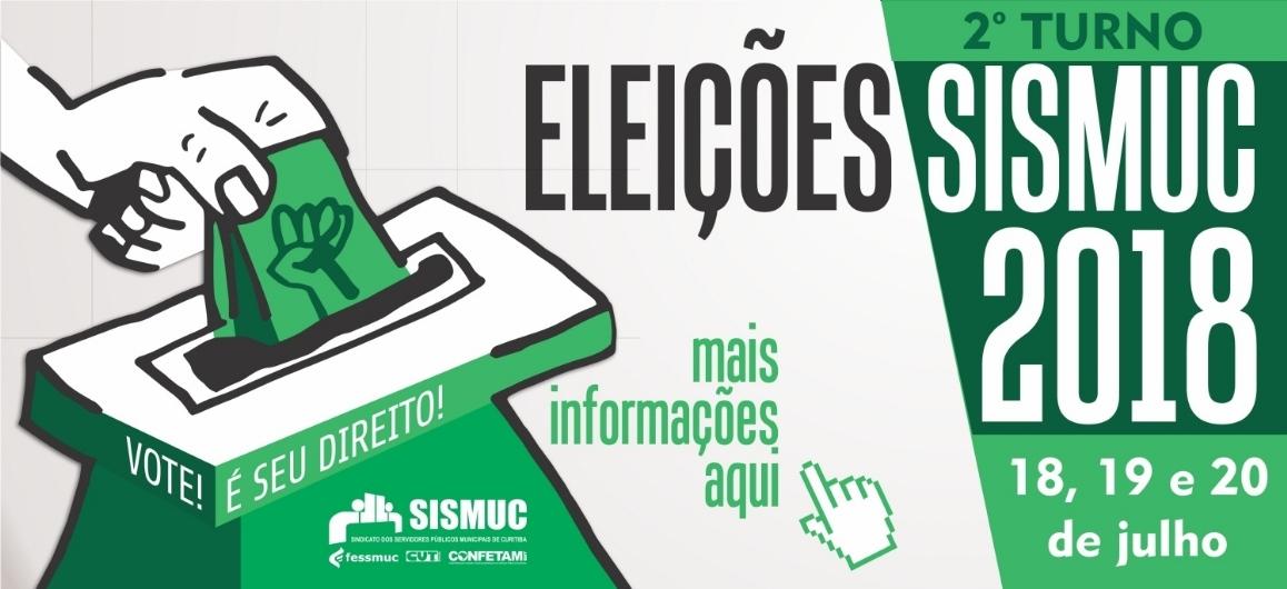Eleições do Sismuc | 2o turno