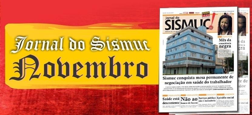 Jornal do Sismuc de Novembro