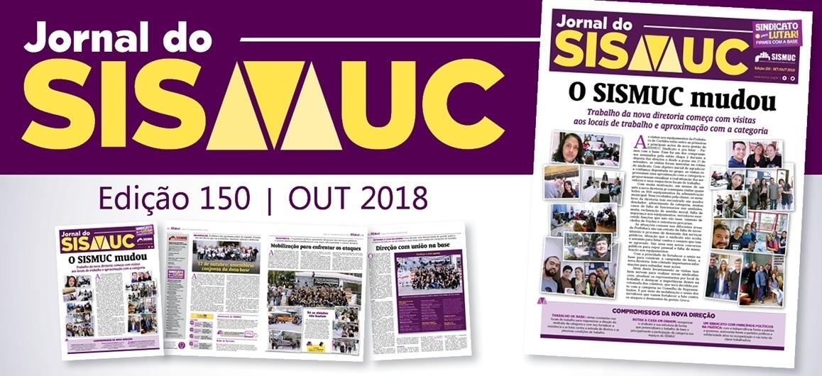 Confira a nova edição do Jornal do SISMUC