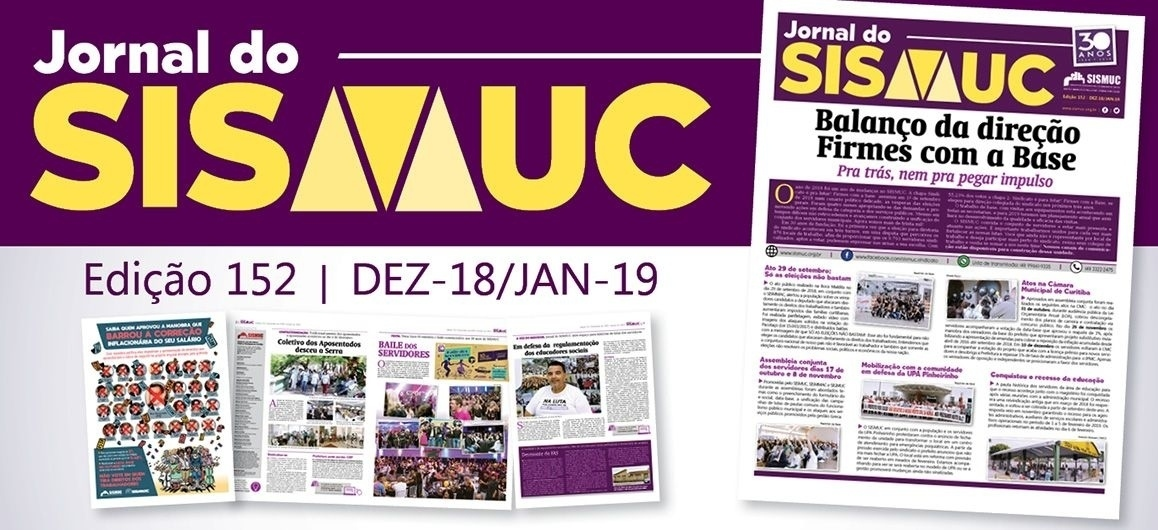Confira última edição do Jornal do SISMUC