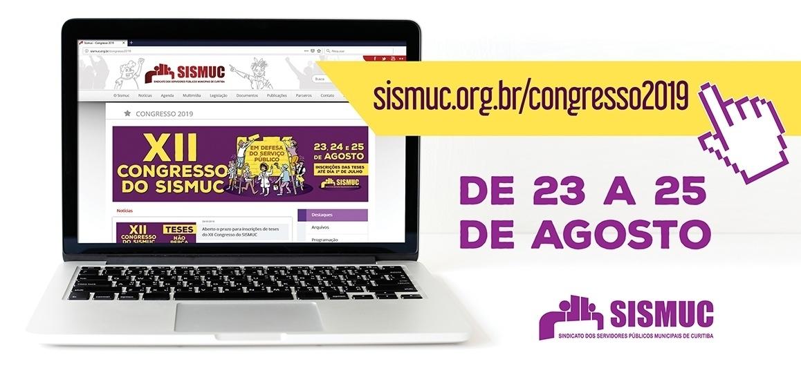 Clique e acompanhe a últimas notícias sobre o XII Congresso do SISMUC