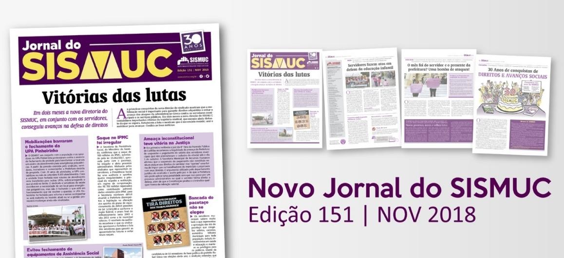 Confira a edição de novembro do jornal do sindicato