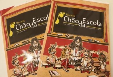 13º edição da Revista Chão da Escola é lançada no Congresso
