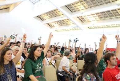 Magistério aprova necessidade de união dos trabalhadores da educação