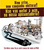 Jornal unificado contra a ameaça de rombo no IPMC