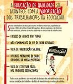 Panfleto para o I Seminário Intermunicipal de Educação
