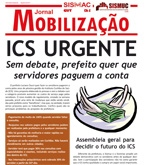 Jornal Mobilização - Especial ICS - Agosto de 2011