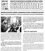 Informativo sobre a mobilização dos professores de 5ª a 8ª séries