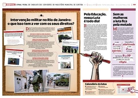 Jornal Mural - Março 2018