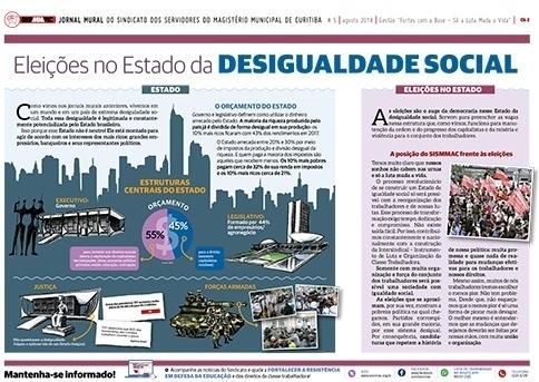 Jornal Mural - Agosto de 2018