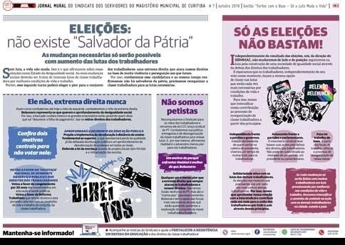Jornal Mural - Outubro de 2018
