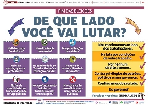 Jornal Mural - Novembro de 2018