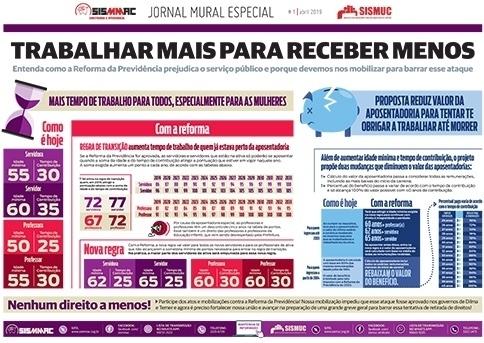 Jornal Mural - Abril de 2019