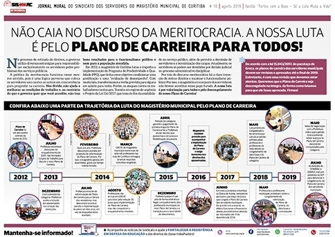 Jornal Mural - Agosto de 2019