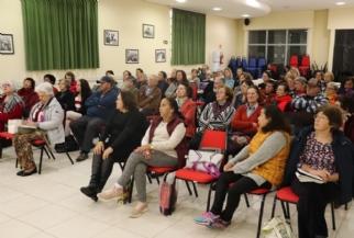 Palestra sobre saúde une aposentados do SISMMAC e SISMUC