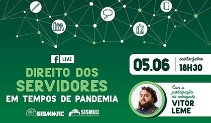 LIVE: Direito dos servidores em tempos de pandemia