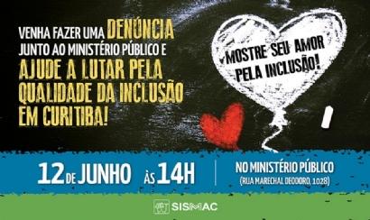 No dia 12 de junho, mostre o seu amor pela inclusão!
