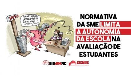 Normativa da SME limita autonomia da escola na avaliação de estudantes
