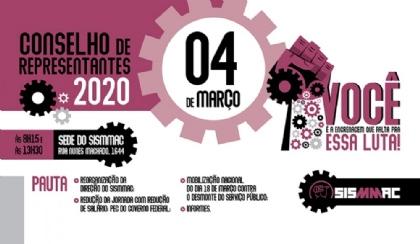 Garanta a participação da sua unidade no primeiro CR de 2020