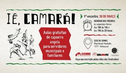 Sindicatos e ACAD dão início a novas turmas de capoeira às segundas