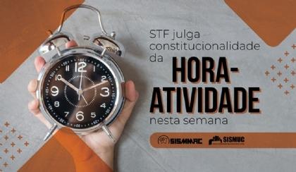 STF julga constitucionalidade da hora-atividade