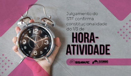 STF confirma: hora-atividade é constitucional e deve ser cumprida