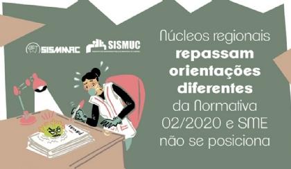 Núcleos dão orientações diferentes da Normativa e SME não se posiciona