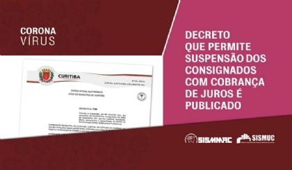 Consignados: decreto sobre suspensão com cobrança de juros é publicado