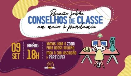 Discussão sobre conselho de classe acontece no dia 9