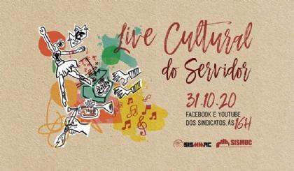 Live Cultural marca celebração pelo dia do Servidor Público