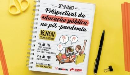 Venha debater as perspectivas da educação pública no pós-pandemia