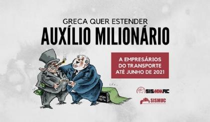 Greca quer estender auxílio milionário a empresários até junho de 2021