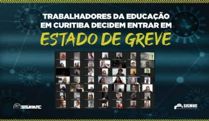 Trabalhadores da educação decidem entrar em Estado de Greve
