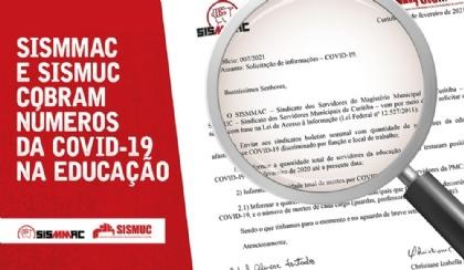 Sindicatos cobram dados da Covid-19 na rede municipal de ensino