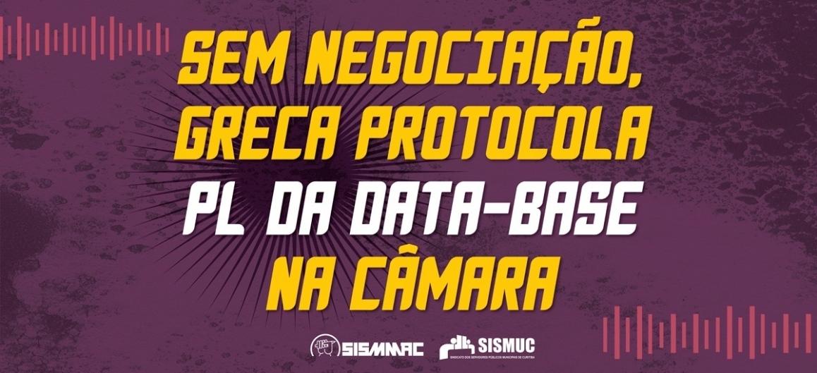 Sem negociação, Greca protocola PL da data-base na Câmara
