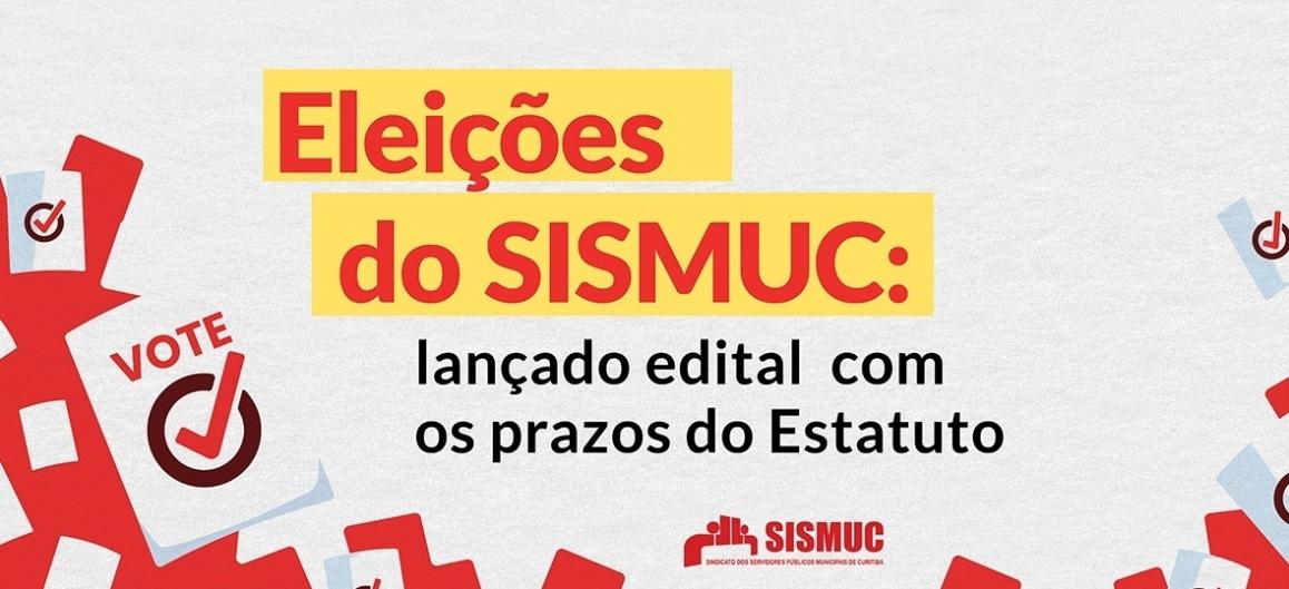 Eleições do SISMUC: lançado edital com os prazos do Estatuto