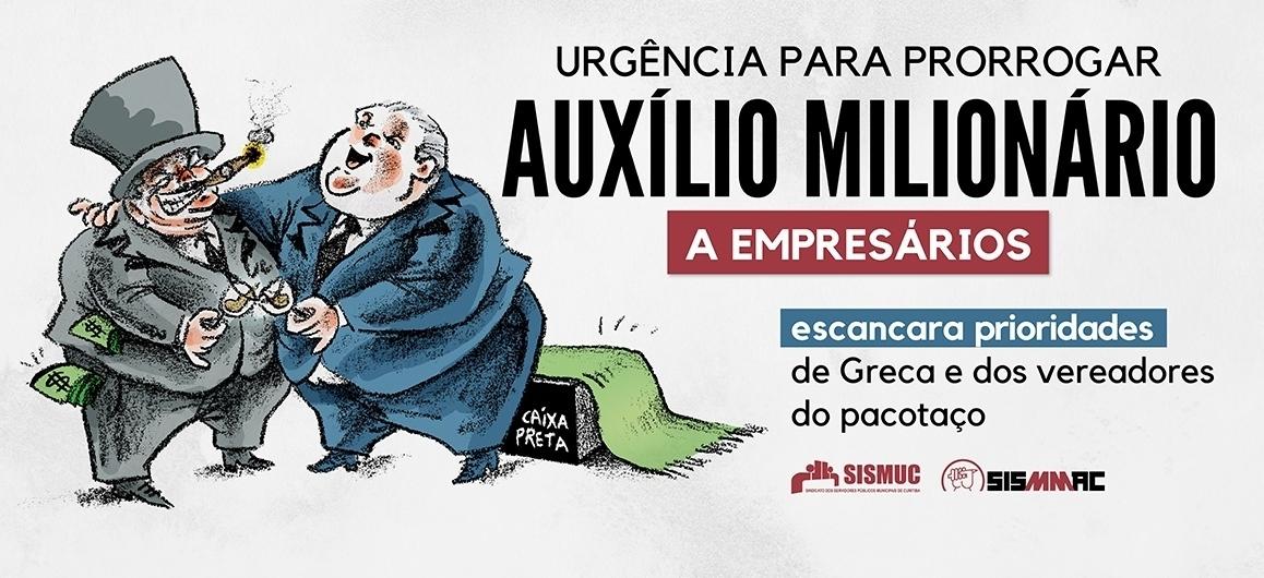 Aliados de Greca usam tratoraço para prorrogar auxílio a empresários