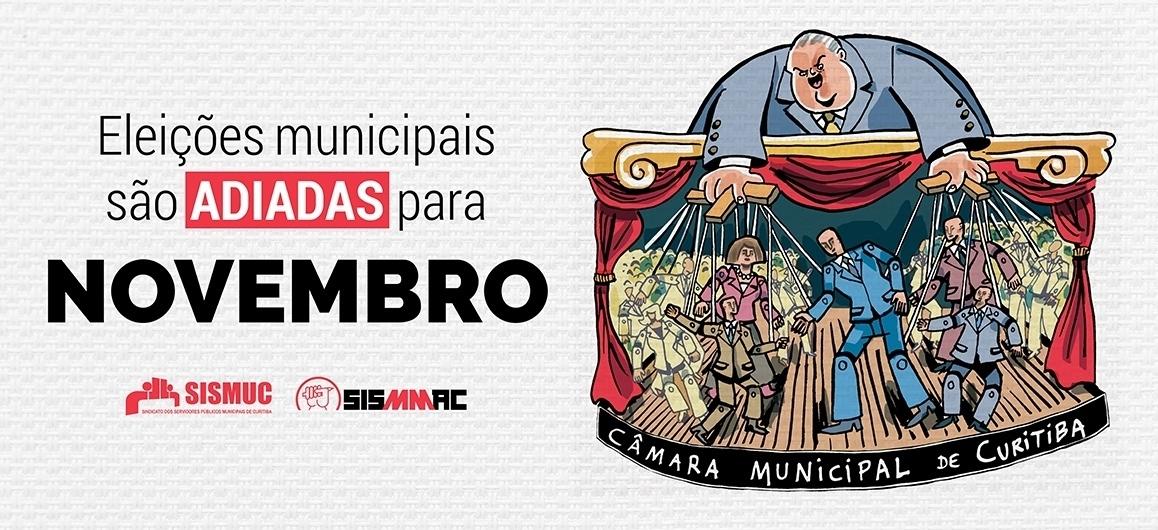 Eleições municipais são adiadas para novembro